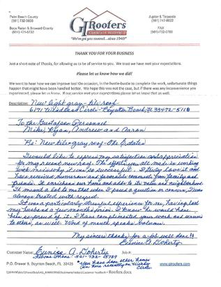 Testimonials from Euinise Doherthy