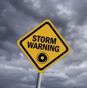 Storm Warning Board