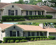 Residential Roofing Before and After