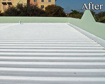 Commercial Roofing After
