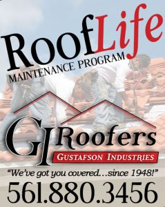 Roof Life Maintenance Program Advertisement